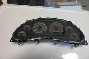 2001 2002 2003 Ford Mustang Gt Instrument Gauge Cluster Speedometer Assembly