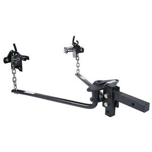 Husky Towing 31425 Round Bar Hitch W Ball Mount shank Assembly 1400 Lb Tongue