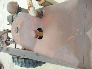 Early Farmall A Tractor Ih Nice Original Ihc Bolt Hood Engine Cover 1939 1940
