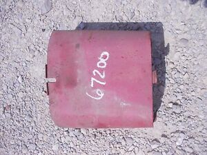 Farmall M Super M Rowcrop Tractor Ih Pto Take Off Shield Cover