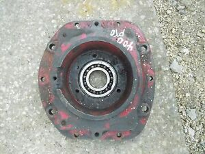 Farmall 400 Tractor Rear Transmission Pto Housing Ih Ihc Cover Pto Bearing