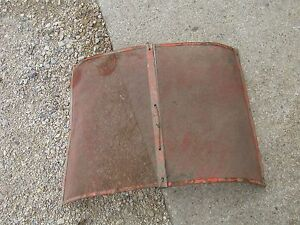 Allis Chalmers Wd Wd45 Tractor Ac Nice Original Front Nose Cone Grill Screen