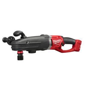 Milwaukee 2711 20 M18 Fuel Super Hawg Right Angle Drill With Quik lok bare