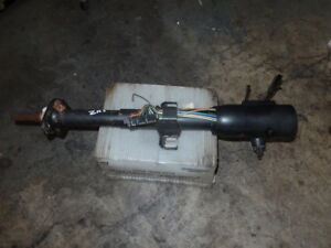 1986 Corvette C4 Tilt Steering Column W Key Gm Original