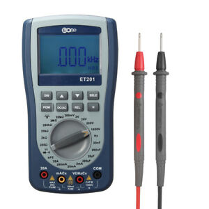 Et201 Digital Intelligent Multimeter Diode Tester Handheld Oscilloscope Us