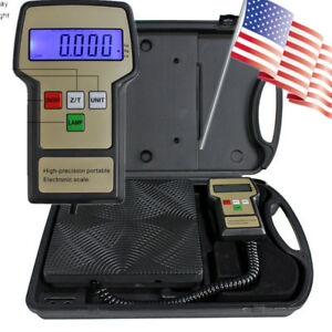 Professional 100kg Refrigerant Charging Electronic Scale Heavy duty Case