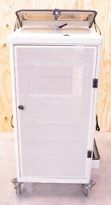 Endoscopy Laparoscopy Tower Cart w Key