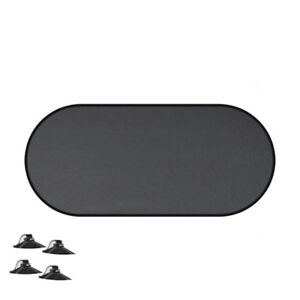 1pcs Car Rear Window Windshield Block Static Cling Visor Shield Sun Shade Cover