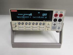 Keithley 2400 General purpose Sourcemeter W Measurements Up To 200v And 1a 20w