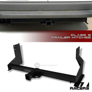 Class 3 Matte Blk Trailer Hitch Receiver Tow 2 For 2007 2016 Sprinter Cargo Van