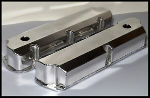 Sbf Ford 289 302 351w Fabricated Aluminum Tall Valve Covers R 6241