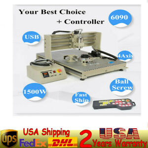 A220v Cnc6090gz 4 Axis Router 57 Two phase 3a Stepping Motor Engraving Machine