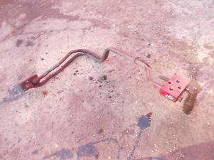 Farmall Ih 300 Rc Tractor Set Rear Steel Hydraulic Lines Too Back Of Tractor