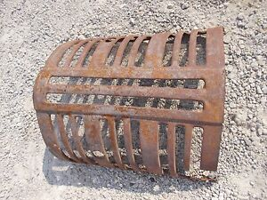 Farmall 400 450 Tractor Ih Nose Cone Grill W Screen