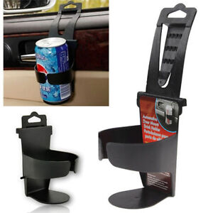 320pc Universal Vehicle Car Truck Door Mount Drink Bottle Cup Holder Stand Black