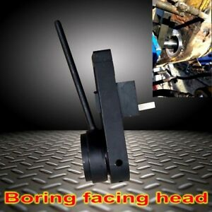 1 Boring Facing Head For Portable Line Boring Machine 40mm Boring Bar Edge Tools