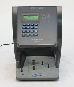 Schlage Recognition Systems Handkey Ii Hk 2 Biometric Hand Scanner Reader 1