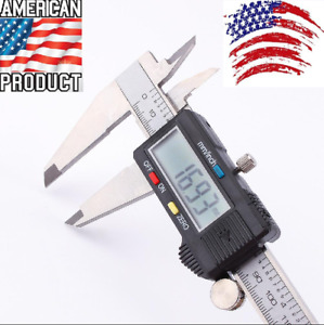 Digital Electronic Gauge Stainless Steel Vernier Depth Gauge Measuring Tools
