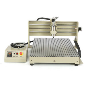 Cnc6090gz 4 Axis Water cooling Engraving Cutting Milling Machine usb Control Box