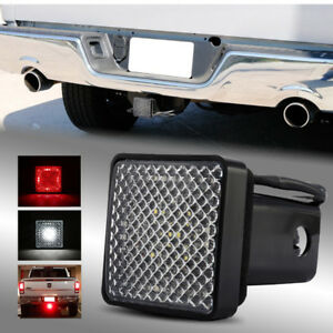 Led Run Brake Reverse Towing Hitch Cover Light For Class Iii 2 Trailer Receiver