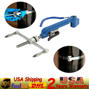 Stainless Steel 4 6 25mm Steel Strip Width Strapping Pliers Tensioning Machine