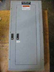 General Electric 225a Breaker Panel 208y 120 V 3p4w 225 A Series A Mlo Ge