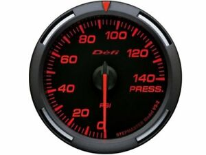 Defi Df11602 Red Racer Gauge 60mm Oil Fuel Pressure