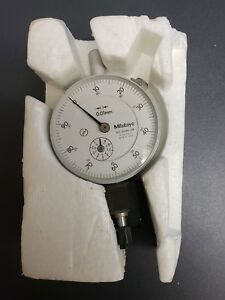 Mitutoyo 2046 08 Dial Indicator Metric 0 01mm Panasonic Vcr Test Jig Vfk0190