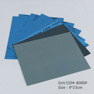 Wet And Dry Sandpaper Any Grit 150 8000 High Quality Sanding Paper Abrasive Tool