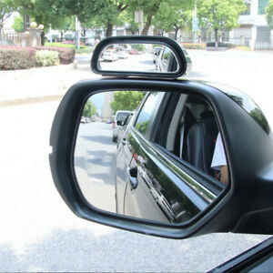Car Wide Angle Mirror Convex Rearview Side View Mirror Blind Spot Mirrors
