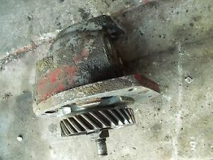 Farmall Sm Smta Mta Ih Tractor Good Working Live Hydraulic Pump