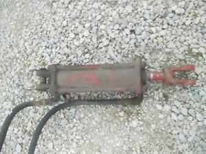 Farmall Cross Tractor Plow Disk Implement Hydraulic Lift Cylinder