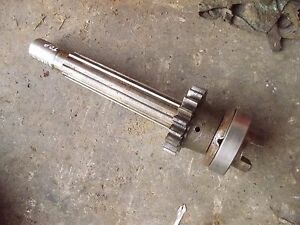Farmall A Tractor Ih Main Transmission Drive Shaft 20 Tooth Reverse Spline Gear