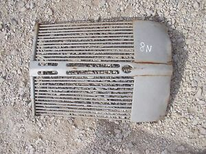 Ford 8n Tractor Nice Original Ford Front Nose Cone Grill 8 N