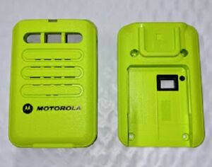 Motorola Minitor Vi 6 Replacement Housing Front Back Green