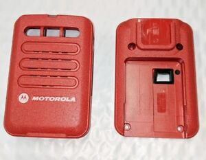 Motorola Minitor Vi 6 Replacement Housing Front Back Red