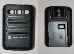 Motorola Minitor Vi 6 Replacement Housing Front Back Black