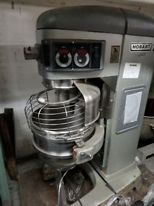 Used Hobart Legacy Hl600 60 Qt Planetary Mixer W 4 Speeds 2 7 Hp Motor 200 240 3