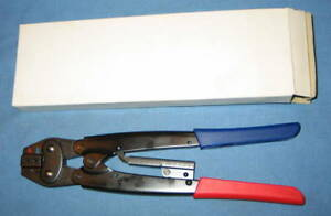 Ynm112 Ratchet Crimping Tool For Insulated Terminals Awg 22 16 16 14 New
