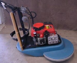 21 Propane Powered Floor Buffer Polisher Burnisher Honda 13hp Engine 166 Hrs