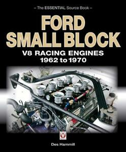 Ford Small Block V 8 Racing Engines 1962 1970 Book 255 260 289 302 brand New