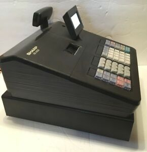 Sharp Xe a23s Cash Register Pos Small Business Excellent Keys Included Black