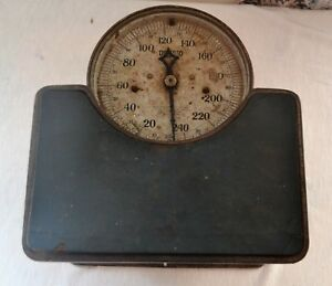 Antique 1917 Detecto Junior Floor Scales Health Doctor Home Working
