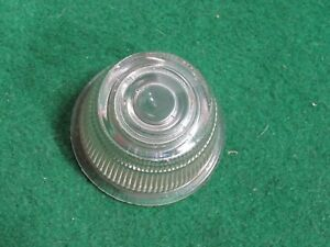 Yankee Metal Products 3003 Clear Glass Lens Back Up Plate Rat Rod