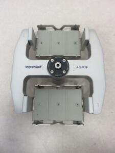 Eppendorf A 2 mtp Swing Bucket Microplate Rotor W Microplate Carriers