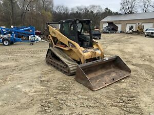 Caterpillar 287b Skid Steer Loaded Tractor Dozer W tracks Great Machine L k