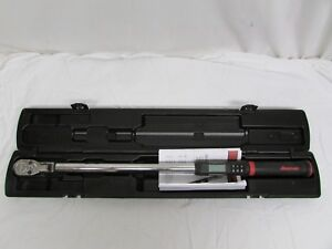 Snap on Techangle Electronic Torque angle Wrench With Case