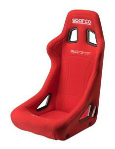 Sparco Competition Racing Bucket Seat Sprint Series Red Fia