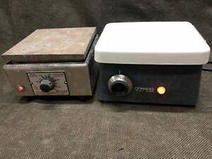 Lot Corning Pc 353 Magnetic Stirrer Thermolyne 1900 Hotplate Hot Plate Stir