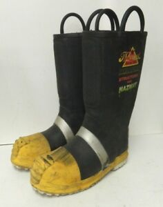 Thorogood Structural Hazmat Steel Toe Firefighter Fire Boots Size 8 Medium 5